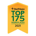 Star Tribune Top 175 Workplaces- 2021