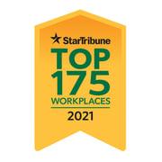 Star Trib Top 175 Workplaces 2021