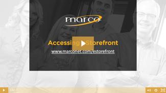 Accessing eStorefront