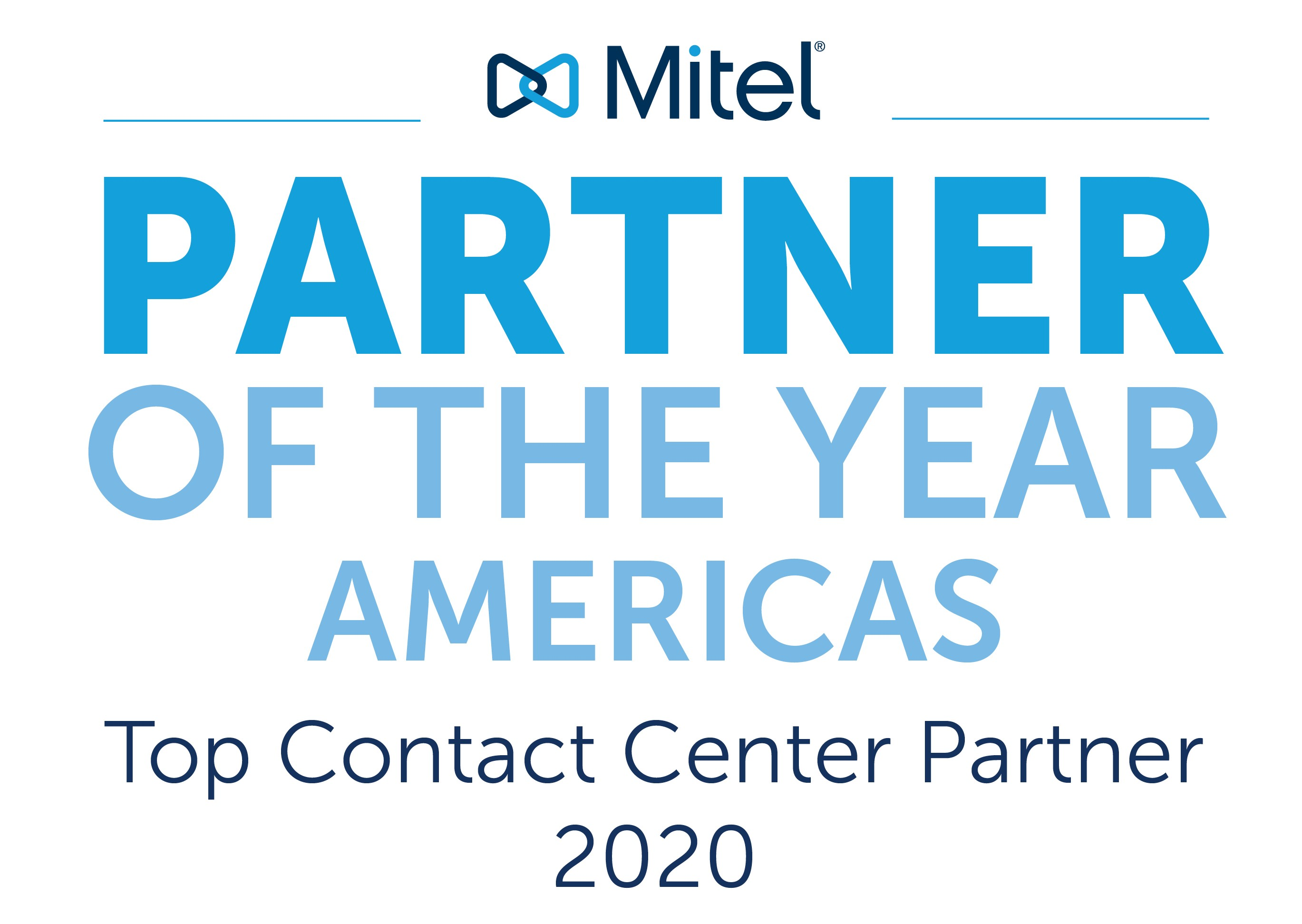 Mitel Partner of the Year - Contact Center