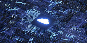 cloud computing technology graphic