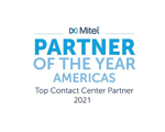 Mitel POTY- Top Contact Center Partner 2021