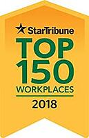 Star Tribune Top 150 Workplaces 2018
