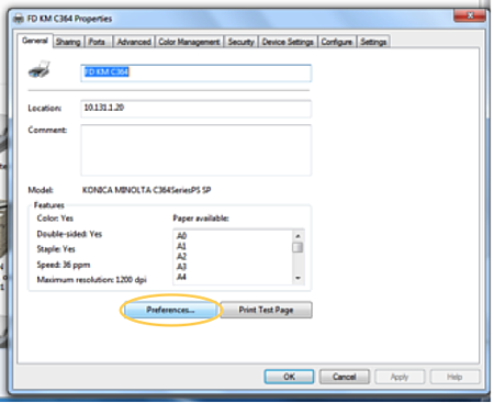 How To Set Up 2 Sided Printing And B W Defaults On Your Printer Or Mfp