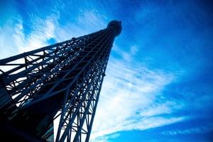 image of a telecom tower