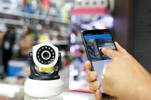 remote video surveillance technology with a cell phone